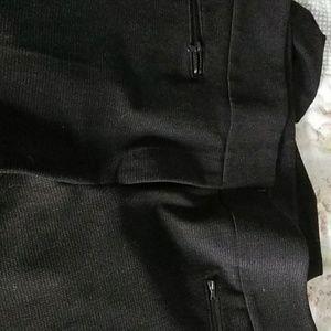 Ann Taylor Julie Skinny black slacks